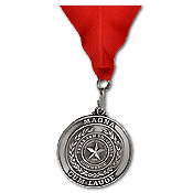 Texas A & M graduation medal