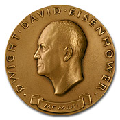 Dwight D. Eisenhower Presidential Inauguration Medal