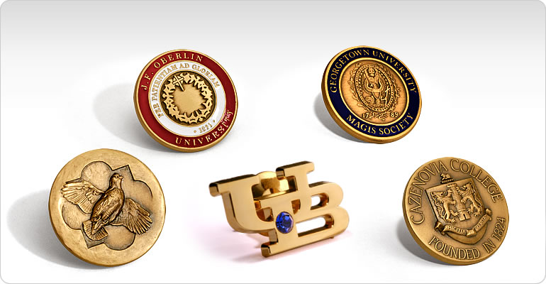 lapel pins -- custom made