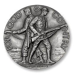 Figure 1: The obverse of the original American Legion School Award.