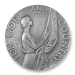 Figure 3: The obverse of the 1925 female version of theAmerican Legion School Award.