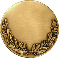 Drake Wreath Medal