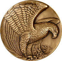 Eagle medallion