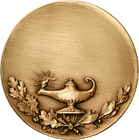Lamp of Knowledge Medallion